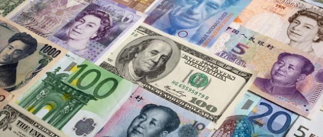 Various-World-Currencies-Dollar-Yuan-Yen-Euro-Pound