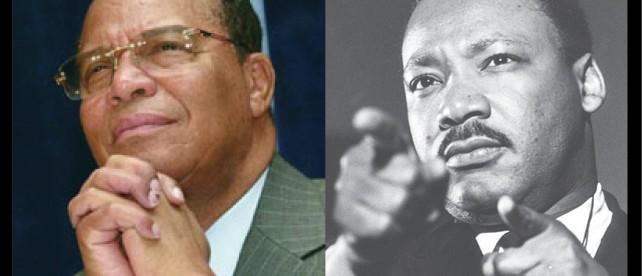 Minister Farrakhan and Dr. King