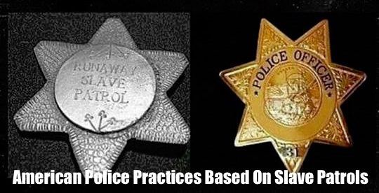 American Police Practices Based On Slave Patrols - banner
