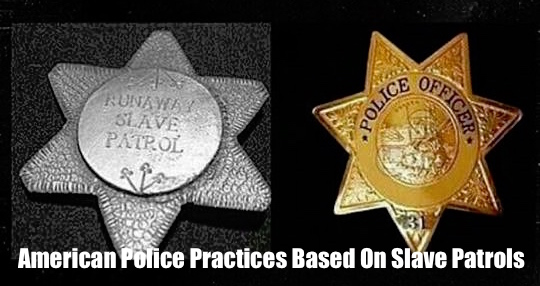American Police Practices Based On Slave Patrols – banner