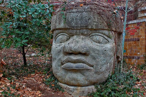 colossal-stone-head-of-the-olmecs