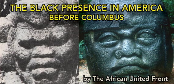 african presence in the americas before columbus Preparatory commitee for international festivals to celebrate the millennium centuries before columbus ivan, african presence in early america, new.