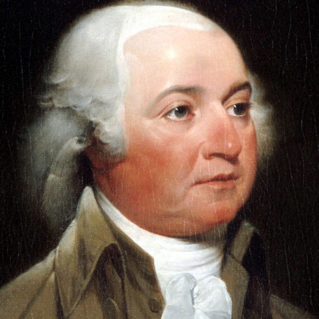 "John Adams: Defended the British against ""the negro"" Crisps Attucks in the Boston Massacre."