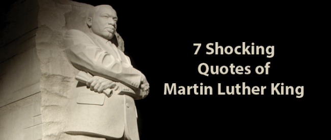 7 Shocking Quotes From Martin Luther King Jr Nation Of Islam