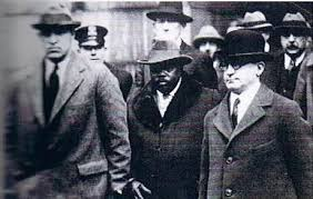 Marcus Garvey's show trial consisted of a Jewish prosecutor, a Jewish judge, and an all-white, half-Jewish jury.