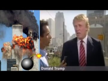"""9/11 Trump Says """"Bombs Exploded"""" In Building Or Plane, Just Plane Cant Bring Down Tower"""